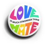 Love is Much Stronger Than Hate