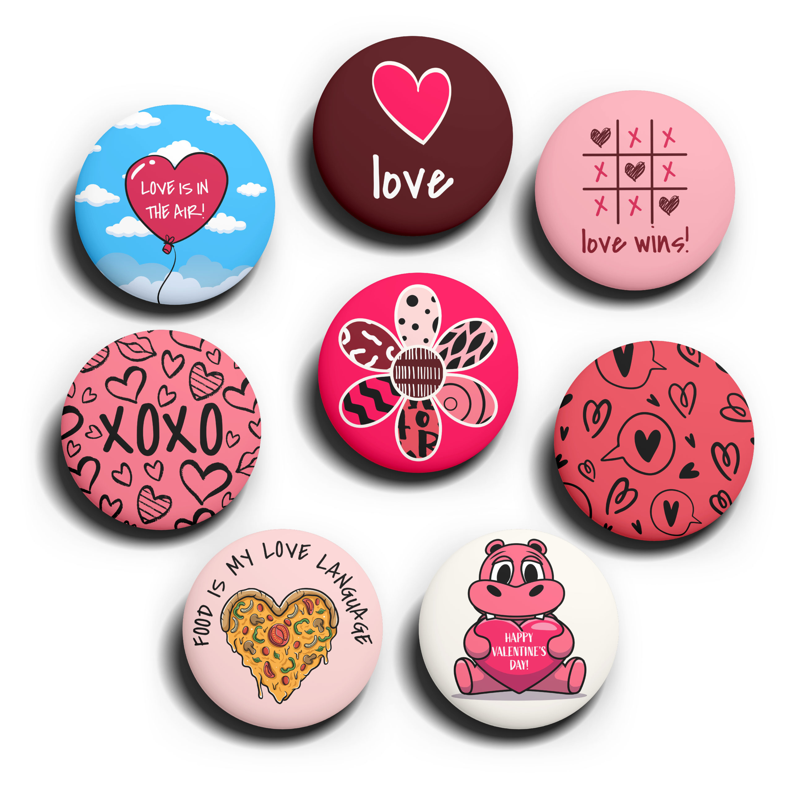 Image of The Love Pack pins