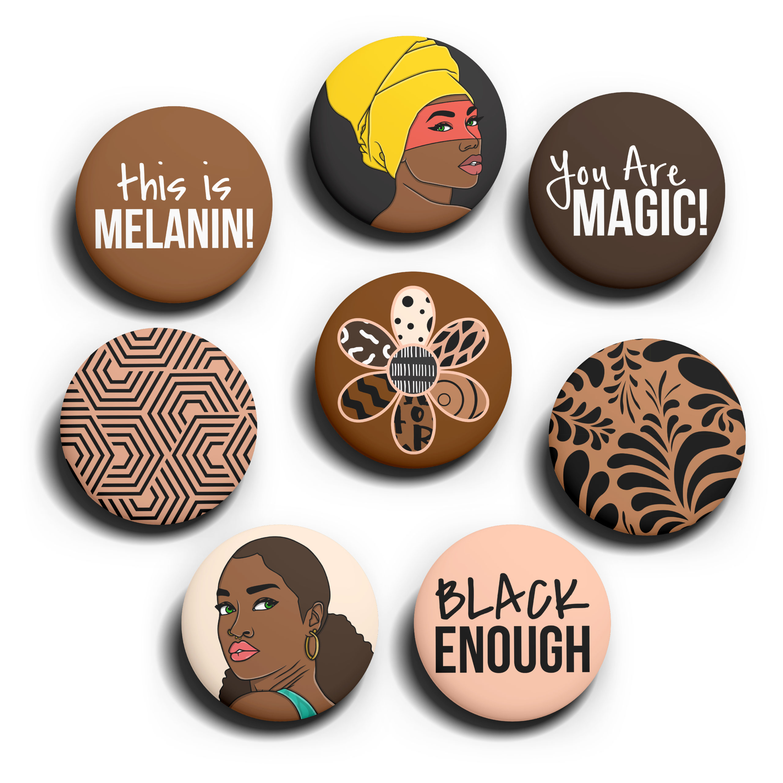 Image of The Melanin Pack pins