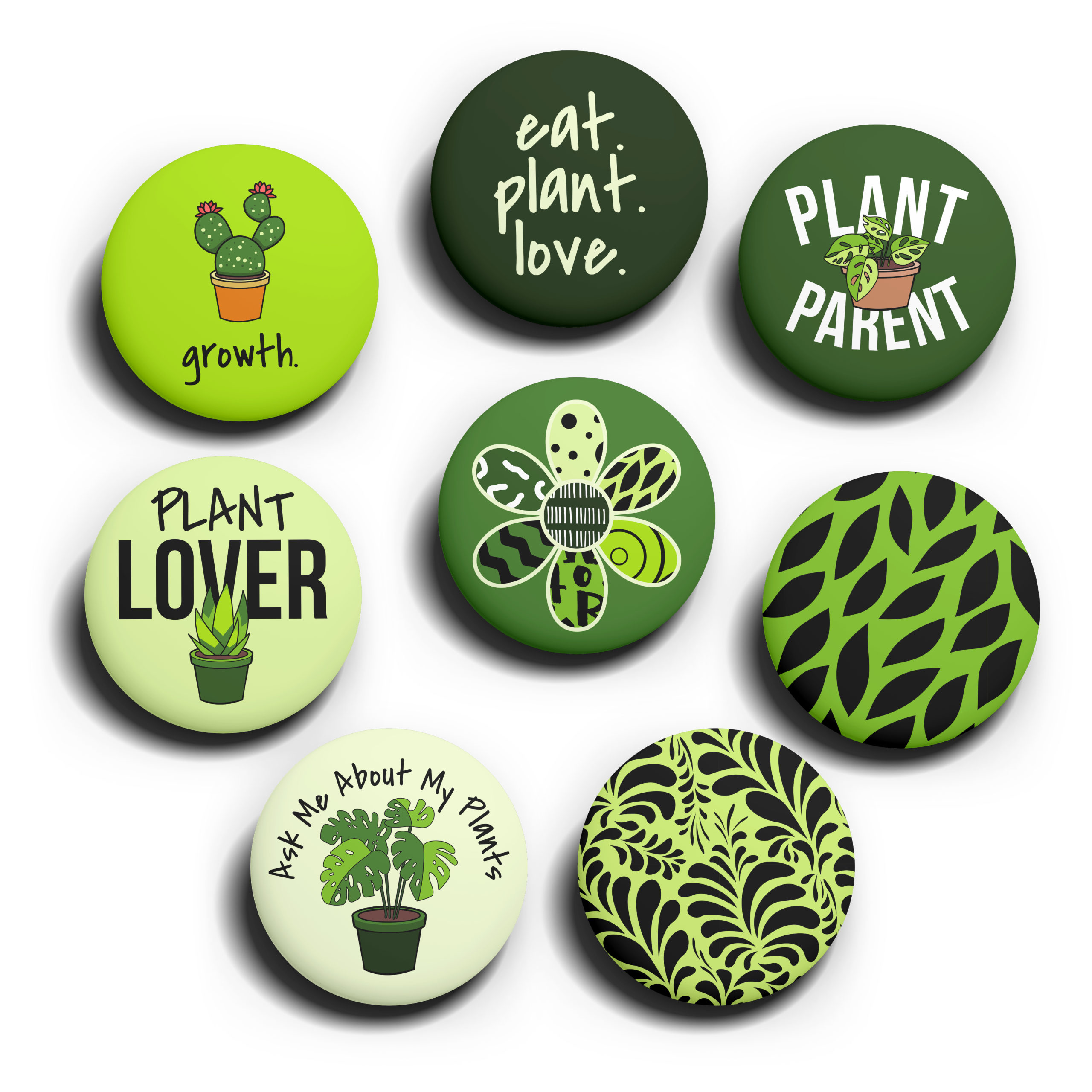 Image of The Plant Pack pins